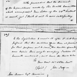 Document, 1796 January 29