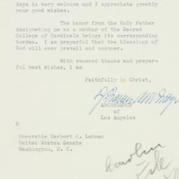 Letter: 1952 December 17
