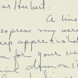 Letter : 1950 September 2