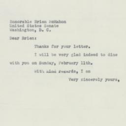 Letter : 1951 January 26