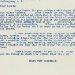 Letter : 1941 February 20