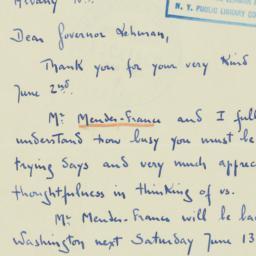 Letter : 1942 June 7