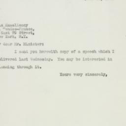 Letter: 1947 April 11