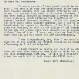 Letter : 1958 March 14