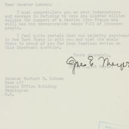 Letter: 1950 August 3