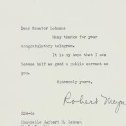 Letter : 1953 November 11