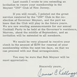 Letter : 1958 August 29