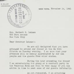 Letter : 1941 November 14