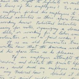 Letter : 1953 November 26