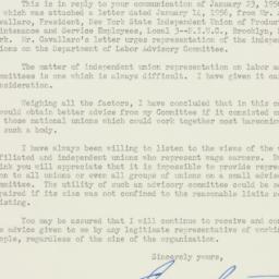 Letter : 1956 February 10
