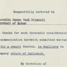 Memorandum : 1956 July 13