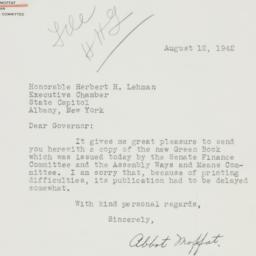 Letter : 1942 August 12