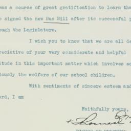 Letter : 1939 May 18