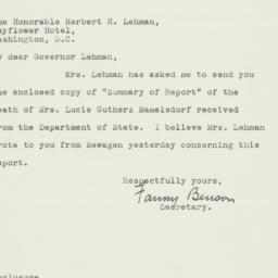Letter: 1944 August 21