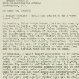 Letter: 1944 August 30