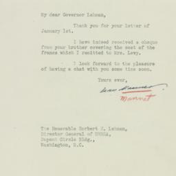 Letter: 1945 January 5