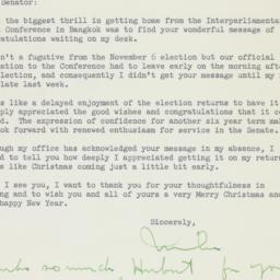 Letter : 1956 December 19