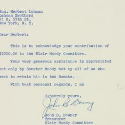 Letter: 1952 September 30