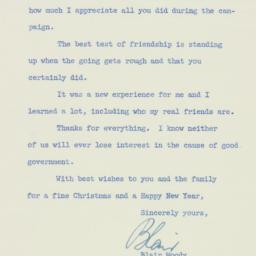 Letter : 1952 November 28