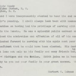 Telegram : 1954 July 21