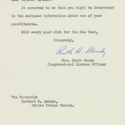 Letter: 1955 December 30