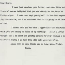 Letter : 1958 March 25