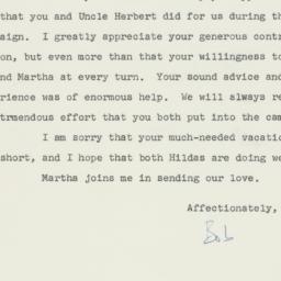 Letter : 1962 December 6