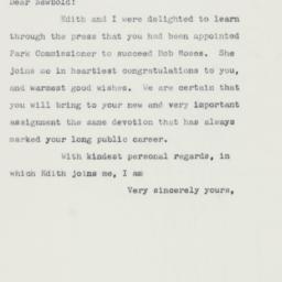 Letter : 1960 April 20