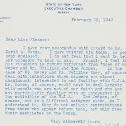 Letter : 1942 February 23