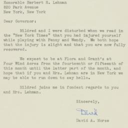 Letter : 1946 July 8