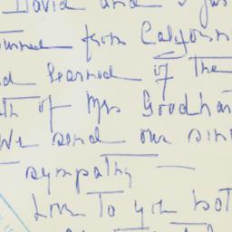 Letter : 1948 July 18