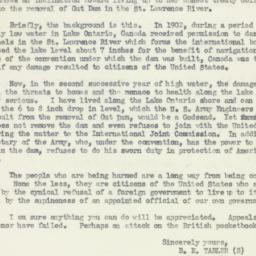 Letter : 1952 April 5