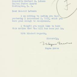 Letter : 1953 February 21