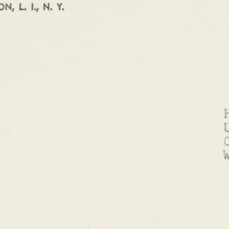 Envelope: 1952 September 3