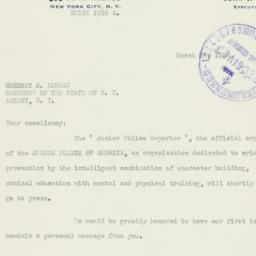 Letter : 1938 March 28