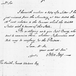 Document, 1798 April 26