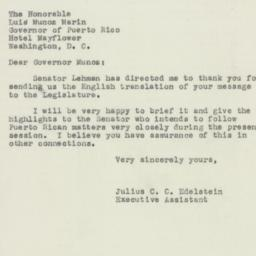 Letter : 1950 March 7