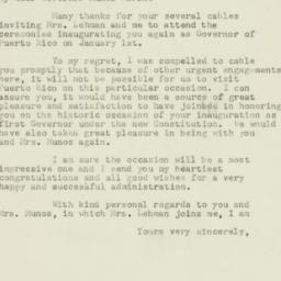 Letter : 1952 December 22