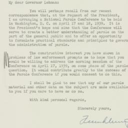Letter : 1939 March 4
