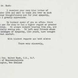 Letter : 1964 January 29