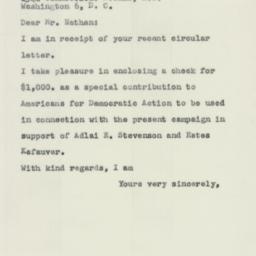 Letter : 1956 October 12
