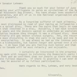 Letter : 1959 July 6