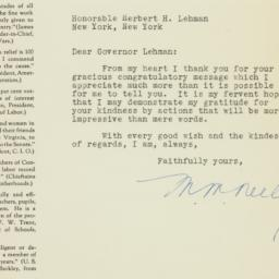Letter: 1948 November 13