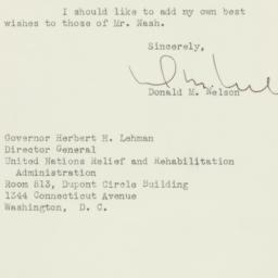 Letter : 1944 December 19