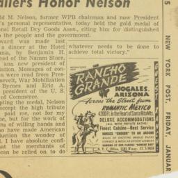 Clipping : 1945 January 12