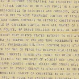 Telegram : 1946 March 24