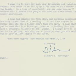 Letter : 1955 August 16