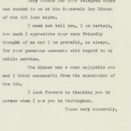 Letter: 1956 February 4