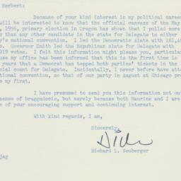 Letter: 1956 July 1