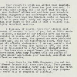 Letter: 1958 October 1